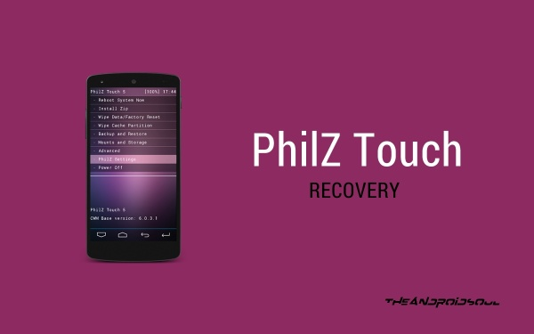 PhilZ-Touch-Recovery